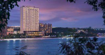 グアムのホテルでオススメするdusit thani guam resortの景色